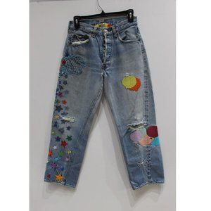 Vintage 501 Levi's Red Line Selvedge jeans womens